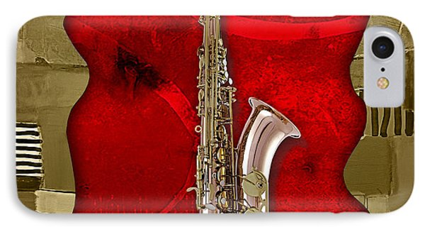 Saxophone Collection IPhone 7 Case