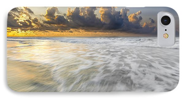 Sunrise On Hilton Head Island IPhone Case by Peter Lakomy