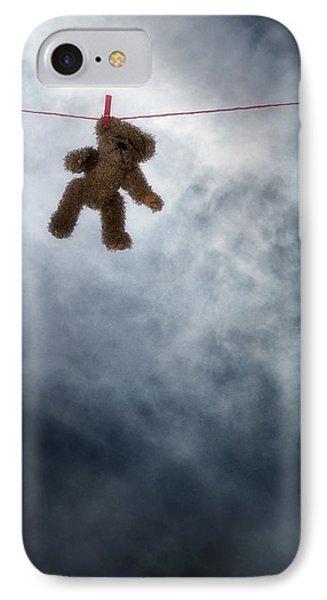 Teddy Bear IPhone Case by Joana Kruse
