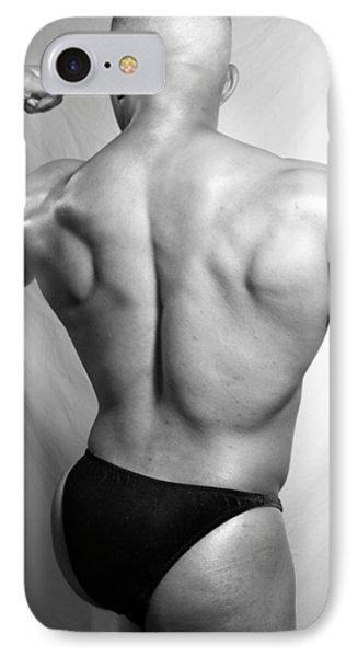 The Bodybuilder IPhone Case by Jake Hartz