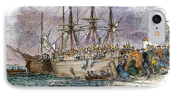 The Boston Tea Party, 1773 Phone Case by Granger