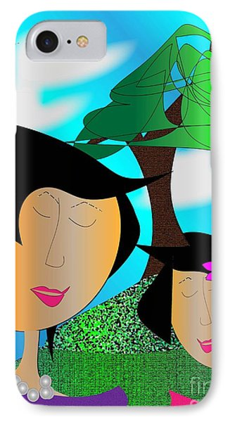 Together Phone Case by Iris Gelbart