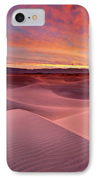 Usa, California, Death Valley National IPhone Case
