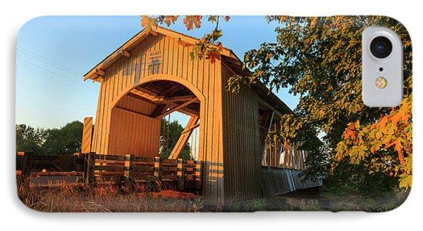 Usa, Oregon, Scio, The Gilkey Bridge IPhone Case