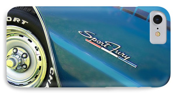 70 Plymouth Sport Fury Gt Details IPhone Case