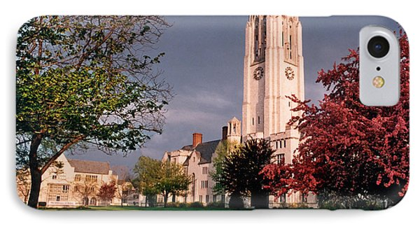 7535 University Of Toledo Bell Tower IPhone Case