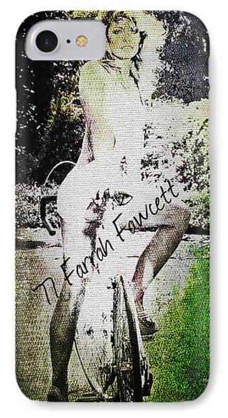 '77 Farrah Fawcett IPhone Case