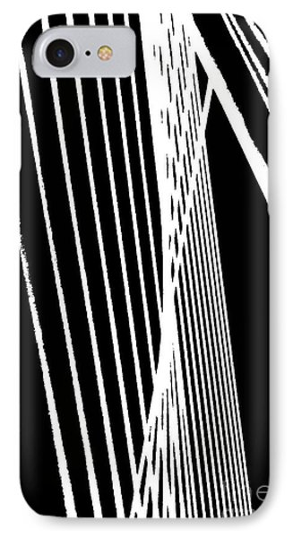 Abstract IPhone Case by Rose Wang