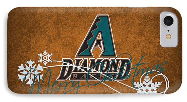 Arizona Diamondbacks IPhone 7 Case by Joe Hamilton
