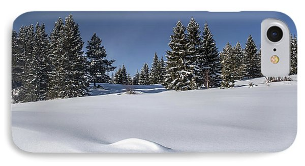 Beautiful Winter Landscape Phone Case by IB Photo