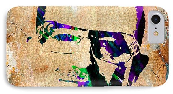 Bono U2 IPhone Case by Marvin Blaine