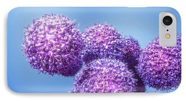 Cancer Cells IPhone Case by Maurizio De Angelis