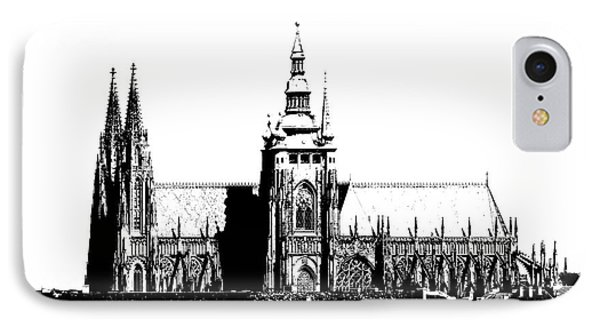Cathedral Of St Vitus IPhone Case