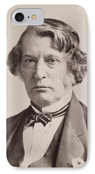 Charles Sumner (1811-1874) IPhone Case by Granger