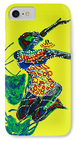 Dinka Dance - South Sudan Phone Case by Gloria Ssali
