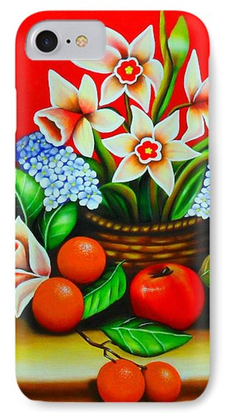 Garden Delights Phone Case by Monica  Vega