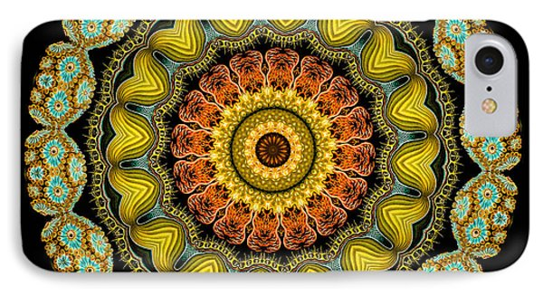 Kaleidoscope Ernst Haeckl Sea Life Series Phone Case by Amy Cicconi