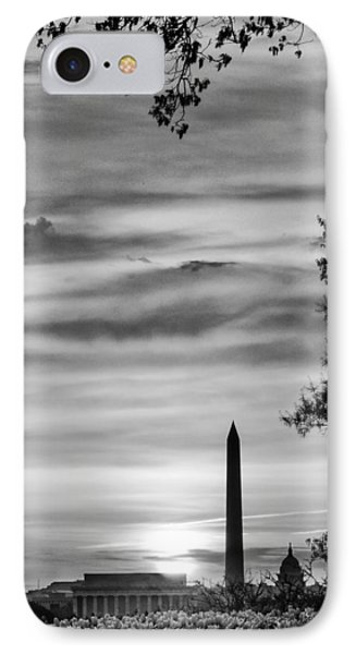 Lincoln Memorial IPhone Case by Celso Diniz
