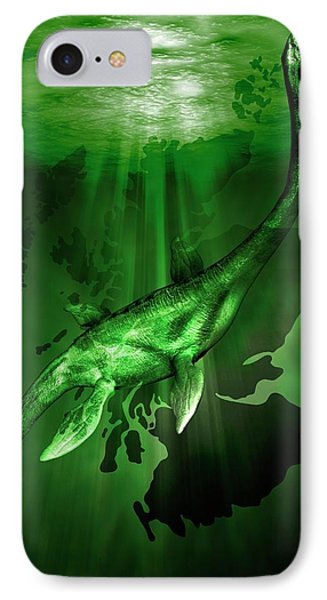 Loch Ness Monster IPhone Case by Victor Habbick Visions