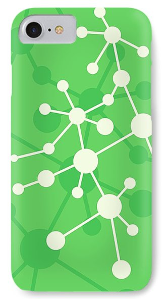 Molecule IPhone Case by Alfred Pasieka