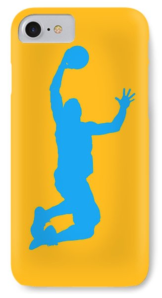 Nba Shadow Players IPhone Case by Joe Hamilton
