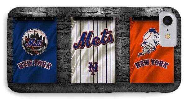 New York Mets iPhone 7 Case - New York Mets by Joe Hamilton