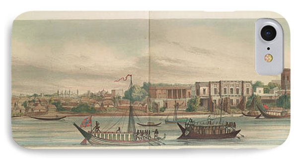 Panorama Of The City Of Dacca IPhone Case