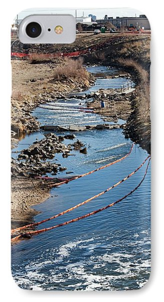 Polluted River IPhone Case by Jim West