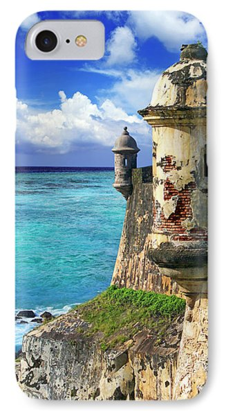 Puerto Rico, San Juan, Fort San Felipe IPhone Case