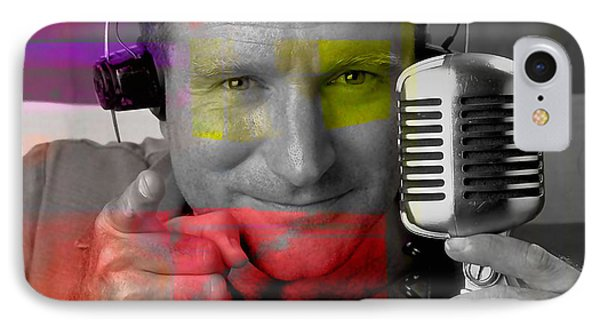Robin Williams Good Morning Vietnam IPhone Case by Marvin Blaine