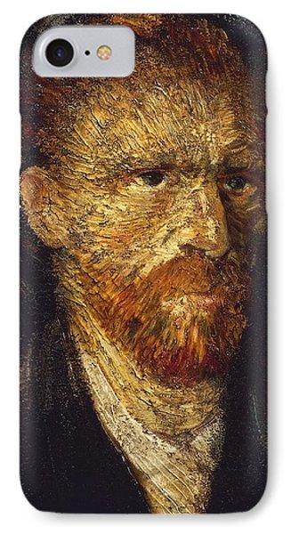 Self-portrait IPhone Case by Vincent van Gogh