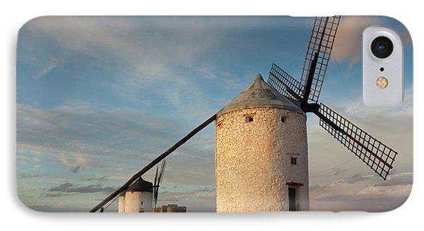Spain, Castile-la Mancha Region, Toledo IPhone Case by Walter Bibikow