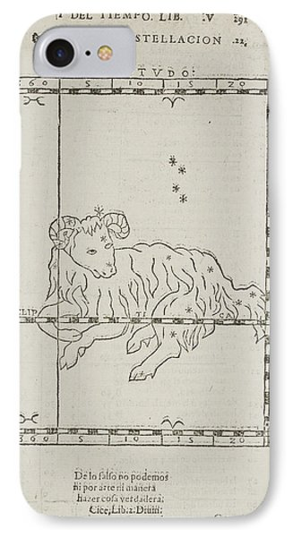 Star Constellations And Heavenly Bodies IPhone Case by British Library