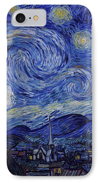 Starry Night IPhone Case by Vincent Van Gogh