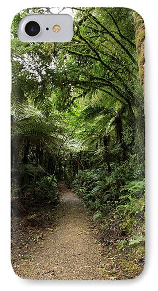 Tropical Forest Phone Case by Les Cunliffe