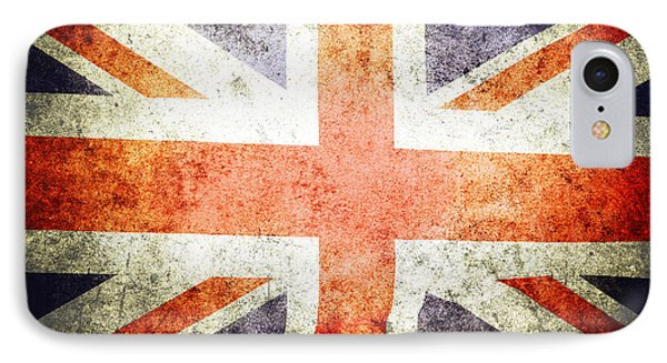 Union Jack  IPhone Case by Les Cunliffe
