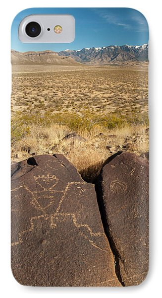 Usa, New Mexico, Three Rivers IPhone Case by Jaynes Gallery