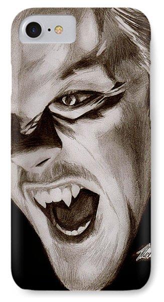 80's Vampire Phone Case by Michael Mestas