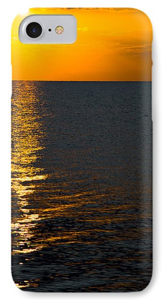 IPhone Case featuring the photograph 8.16.13 Sunrise Over Lake Michigan North Of Chicago 003 by Michael  Bennett