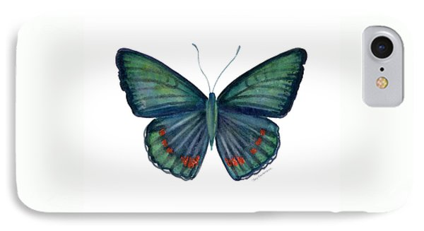 82 Bellona Butterfly Phone Case by Amy Kirkpatrick