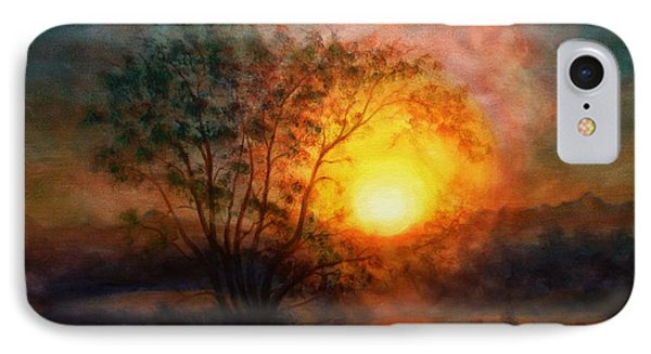 Earth Light Series IPhone Case by Len Sodenkamp