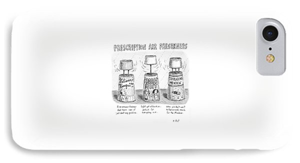 Prescription Air Fresheners IPhone Case by Roz Chast