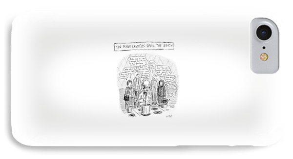 New Yorker May 21st, 2007 IPhone Case by Roz Chast