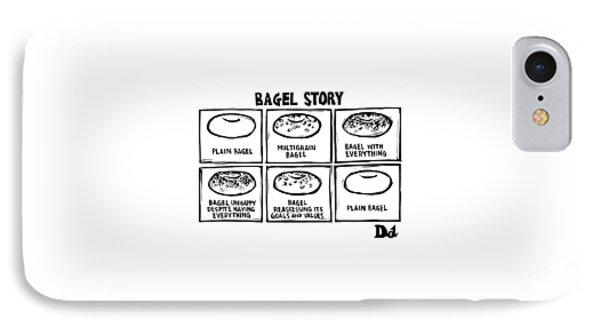 New Yorker January 28th, 2008 IPhone Case by Drew Dernavich