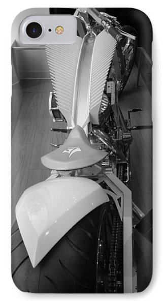 9/11 Memorial Bike In Black And White Phone Case by Rob Hans