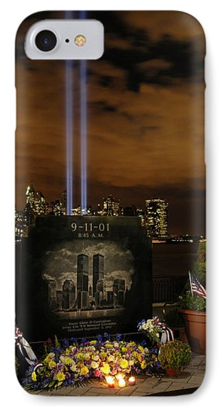 9-11 Monument IPhone Case by Dave Mills
