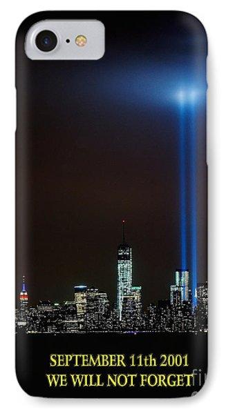 9/11 Tribute IPhone Case by Nick Zelinsky