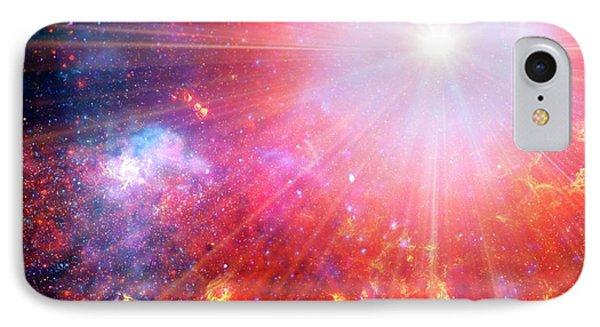 Big Bang IPhone Case by Detlev Van Ravenswaay