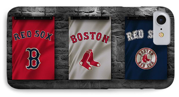 Boston Red Sox IPhone Case by Joe Hamilton
