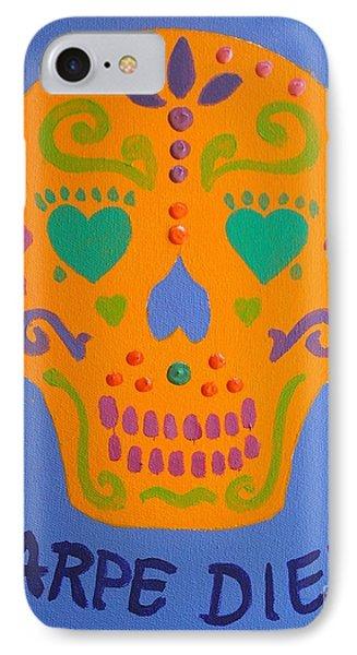 Carpe Diem Series IPhone Case by Janet McDonald